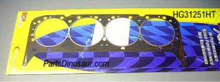 Hi Temp Head Gaskets Chevy 400 SBC Without Steam Holes HG31251HT Rol