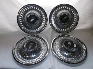 "14"" Hubcaps 1973 79 Olds Oldsmobile Vintage Hub Caps Wheel Covers Hot Rat Rod"