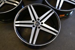 "20"" Verde Parallax Staggered Wheels Rims Dodge Impala Malibu 20x9 20x10"