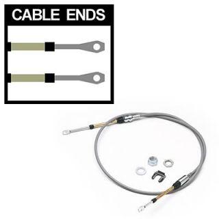 Hurst Shifter Cable 5 ft Length Eyelet Eyelet Ends Gray Each 5000029
