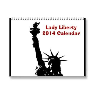 Pop Art Statue of Liberty 2014 Calendar