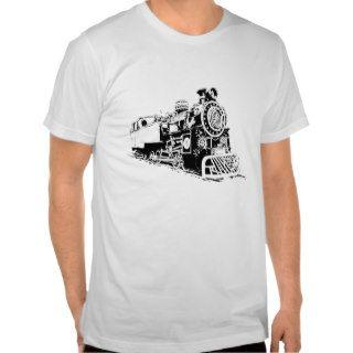 Black & White Locomotive Tee Shirts