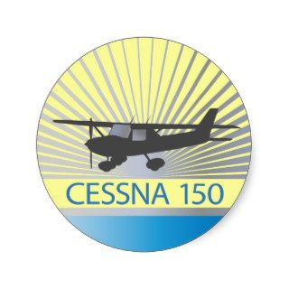 Cessna 150 Airplane Stickers