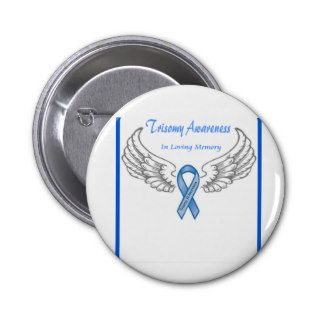 Trisomy 18 Customizable In Loving Memory Pin