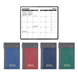 New Haven Duet Monthly Calendar With Pen