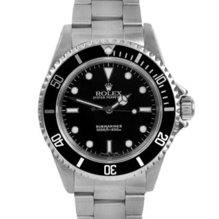 Pre owned Men's Rolex Submariner Automatic Black Dial Watch Rolex Men's Pre Owned Rolex Watches