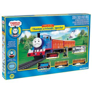 Bachmann HO Scale Thomas and Friends Deluxe Train Set Bachmann Trains