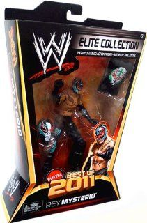 WWE Elite Collection Best of 2011 Rey Mysterio Figur: Spielzeug