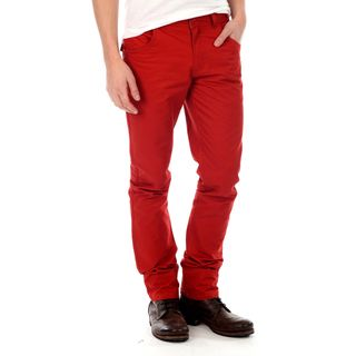 191 Unlimited   Pantal�n de hombre, corte recto, rojo 191 Unlimited Jeans & Denim