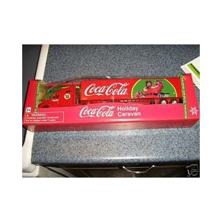 : 2008 Coca Cola HOLIDAY CARAVAN SEMI TRUCK AND TRAILER  1:64 Scale  LIMITED EDITION : Other Products : Everything Else