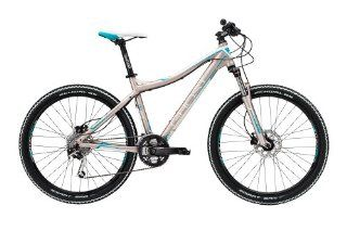 Ghost Miss 3000 grey/white (2013) (Frame size: 48 cm) hardtail mountain bike: Sports & Outdoors