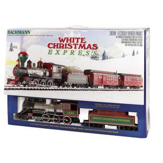 Bachmann G Scale White Christmas Large Train Set Bachmann Trains