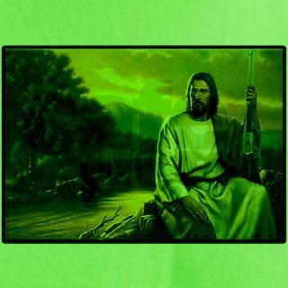 Jesus Loves His Winchester 94 T Shirt by shirtpervert