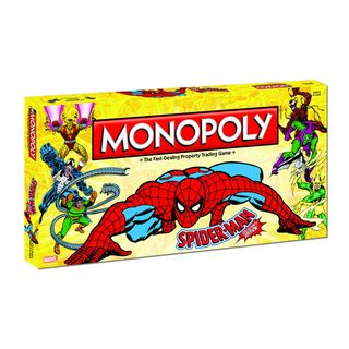 Monopoly Spider Man Collector's Edition USAopoly Board Games