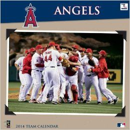 Los Angeles Angels 2014 Calendar: Books