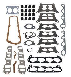CYLINDER HEAD AND INTAKE MANIFOLD GASKET SET  GLM Part Number 39670; Sierra Part Number 18 4390; Mercury Part Number 27 56110A1 Automotive