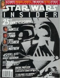 STAR WARS INSIDER June, 2002 Number 59 (25th Anniversary. Mark Hamill. Harrison Ford. Carrie Fisher. Peter Mayhew.): Dave Gross: Books