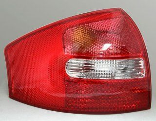 Left Tail Light Lamp Red Clear For Audi A6 C5 1998 1999 2000 2001 2002 2003 2004 Parts Number 4B5 945 095: Automotive