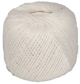 T.W . Evans Cordage 09 488 Number 48 Polished Beef Cotton Twine with 345 Feet Ball: Home Improvement