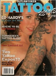 OUTLAW BIKER TATTOO REVUE 1993 NUMBER 29 TENNESSEE TATTOO BLAST NEW ZEALAND ART AND MORE!: OUTLAW BIKER MAGAZINE: Books