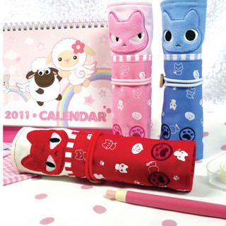 Animal Series Roll Up Pencil Case   iswas