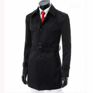 Belted Trench Coat   Imagine Men