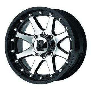 XD XD798 16 Machined Black Wheel / Rim 6x5.5 with a  12mm Offset and a 106.25 Hub Bore. Partnumber XD79869068512N: Automotive