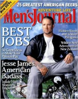 Men's Journal Magazine   October 2006   Jesse James Cover! (Volume 15, Number 9): Jann S. Wenner: Books