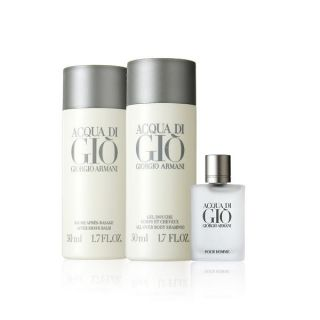Acqua Di Gio Discovery Kit: EDT 5ml + Body Shampoo 50ml + After Serum 50ml, 3 pcs   Giorgio Armani