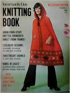 Woman's Day Knitting Book Number 14, 1972 Frank Bowers Books