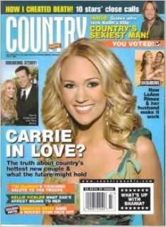 Carrie Underwood & Tony Romo in Love? / How I Cheated Death: 10 Stars' Close Calls / How LeAnn Rimes & Her Husband Make It Work / Tim McGraws Touching Salute to the Troops (Country Weekly, Volume 14, Number 14, July 2, 2007): Bonnie Fuller: Boo