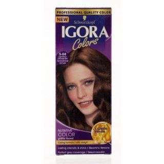 Igora Hair Color Light Brown Chocolate Red No.5.68 115ml.: Beauty