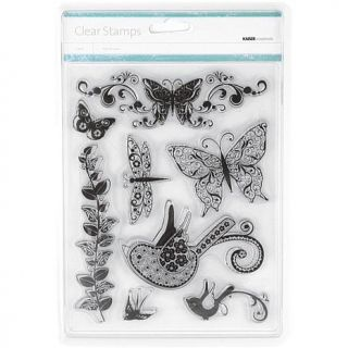 Kaisercraft Flora and Fauna Clear Stamp Sheet