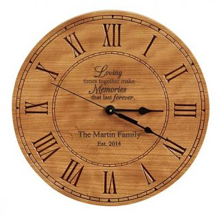 Personal Creations Loving Memories Wall Clock