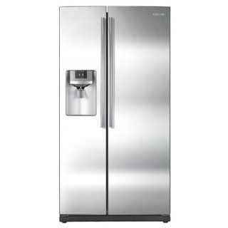 Whirlpool GSF26C4EXT Gold 26.4 Cu. Ft. Bisque Side By Side Refrigerator   Energy Star: Kitchen & Dining