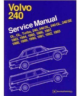 1983 1993 1989 1990 1991 1992 Volvo 240 Shop Service Repair Manual Factory OEM Automotive