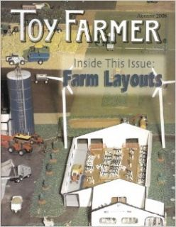 Toy Farmer (Farm Layouts, August 2008, Volume 31, Number 8) Cathy Scheibe Books