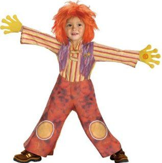 Kid's Deluxe Toddler Moe Doodlebops Costume (1 2T): Toys & Games