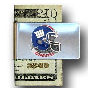 NEW YORK GIANTS NFL stainless steel helmet Money Clip/Card Holder: Everything Else