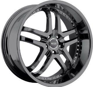 Prado Dante 20 Black Chrome Wheel / Rim 5x4.5 & with a 42mm Offset and a 73.1 Hub Bore. Partnumber 901 20065PB42 Automotive