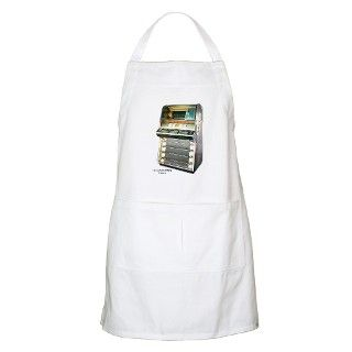 1955 Seeburg V200 Jukebox BBQ Apron by skipsdiner