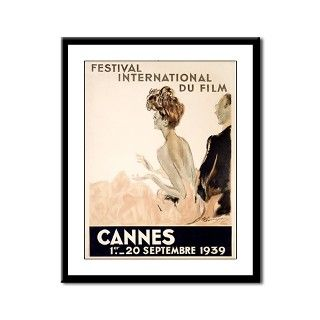 Cannes Film Festival Framed Panel Print by oshishop