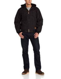 Berne Apparel Men's Hooded Jacket: Clothing
