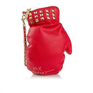 Betsey Johnson Red Boxing Glove Wristlet