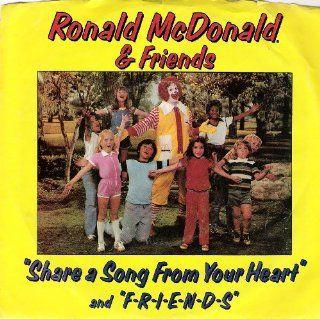 Ronald McDonald & Friends 45 rpm Music
