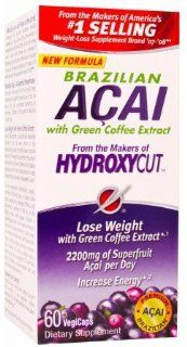 Hydroxycut Brazilian Acai with Green Coffee Extract   60 VegiCaps Health & Personal Care