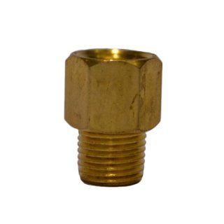 Trico FA 1006M Brass Central Lubrication Straight Adapter, M10 x 1.0 Female x 1/8 BSPT Male: Industrial Lubricants: Industrial & Scientific