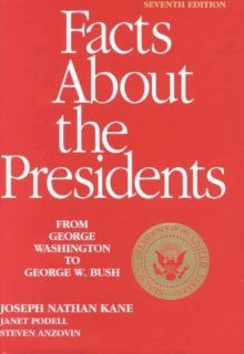 Facts about the Presidents (9780824210076): Joseph Nathan Kane, Janet Podell, Steven Anzovin: Books