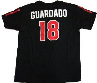 Andres Guardado Mexico Futbol / Soccer Black Jersey Name And Number Youth T Shirt X Large: Sports & Outdoors