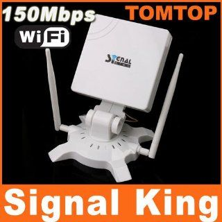 Limited Edition! Bargain Super SALE! 2014 Model!! 150Mbps USB Wireless Adapter Signal King WiFi IEEE 802.11g/b/n 48DBI Antenna: Computers & Accessories